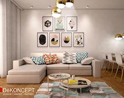 dom - Salon - zdjęcie od Dekoncept - Homebook