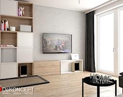 kwadraty - Salon - zdjęcie od Dekoncept - Homebook