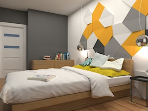 projekt mieszkania we Wrocławiu o powierzchni 48 mkw