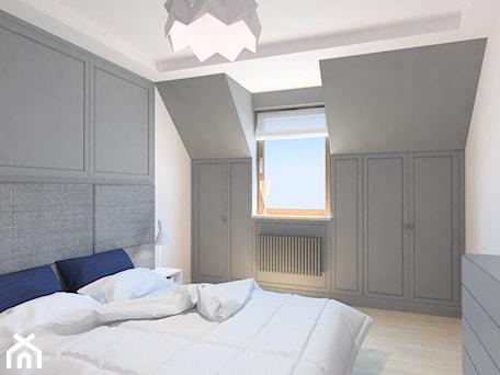 Aranżacje wnętrz - Sypialnia: projekt mieszkania we Wrocławiu 1 - Sypialnia, styl minimalistyczny - Dekoncept. Przeglądaj, dodawaj i zapisuj najlepsze zdjęcia, pomysły i inspiracje designerskie. W bazie mamy już prawie milion fotografii!
