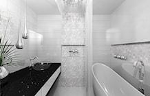 Łazienka w stylu glamour - zdjęcie od ROSICA STUDIO