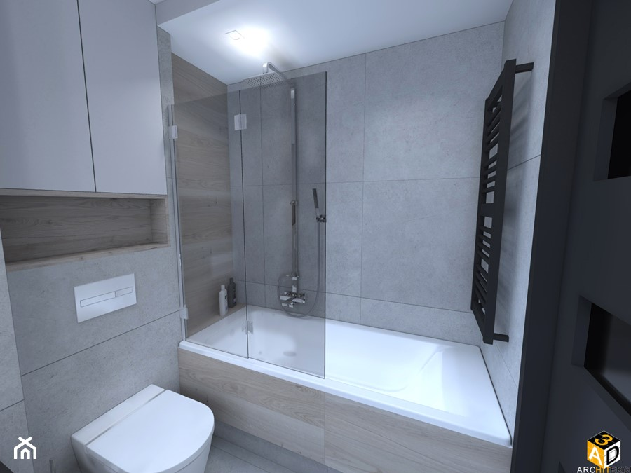 Mieszkanie 55m2 łomża Mała łazienka W Bloku W Domu