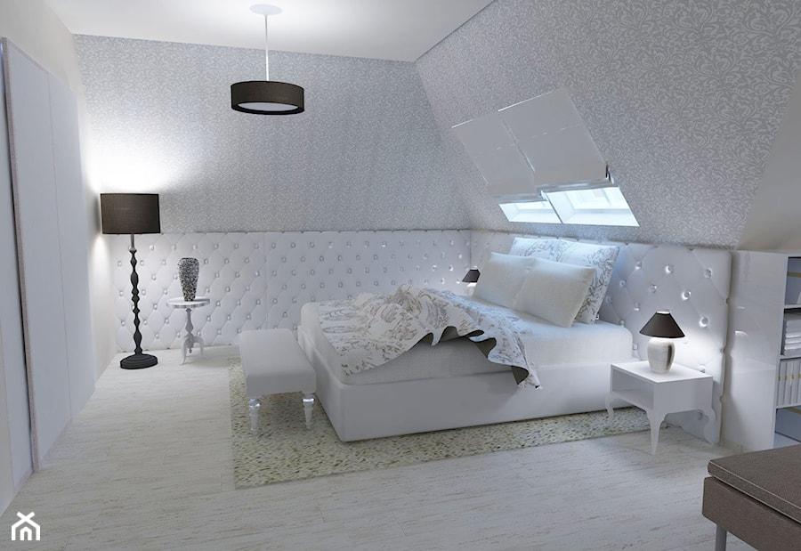 Sypialnia Poddasze Zdjecie Od Studio Projektowe Homebook