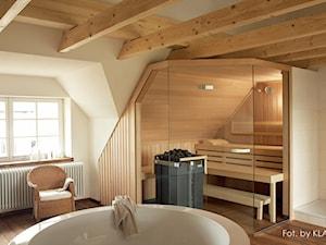 Sauna PREMIUM na poddaszu - zdjęcie od KLAFS