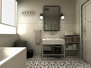 Łazienka w kaflach - zdjęcie od MTE Design Maria Tymoszuk