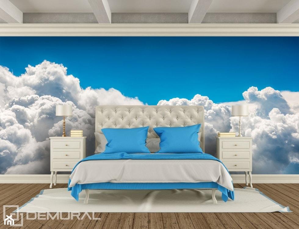Z głową w chmurach - podniebny sen - zdjęcie od Demural - Homebook