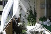 balkon w stylu romantycznym