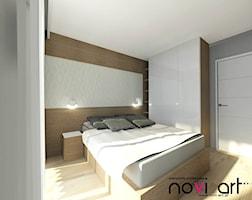 Sypialnia styl Nowoczesny - zdjęcie od Pracownia projektowa Novi art