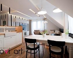 Kuchnia styl Skandynawski - zdjęcie od Pracownia projektowa Novi art