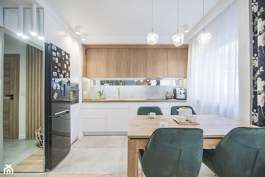 Mieszkanie Mistrzejowice - Kraków 2020 - Kuchnia, styl nowoczesny - zdjęcie od NOVI art Pracownia projektowa