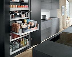 Szafa cargo w każdym pomieszczeniu - Kuchnia, styl nowoczesny - zdjęcie od Blum - Homebook