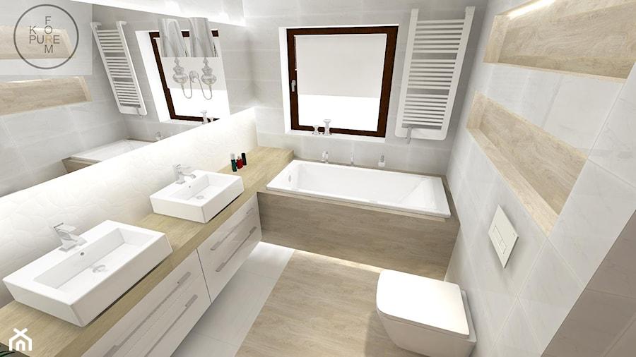 Projekt Klasycznej łazienki Mała łazienka W Domu