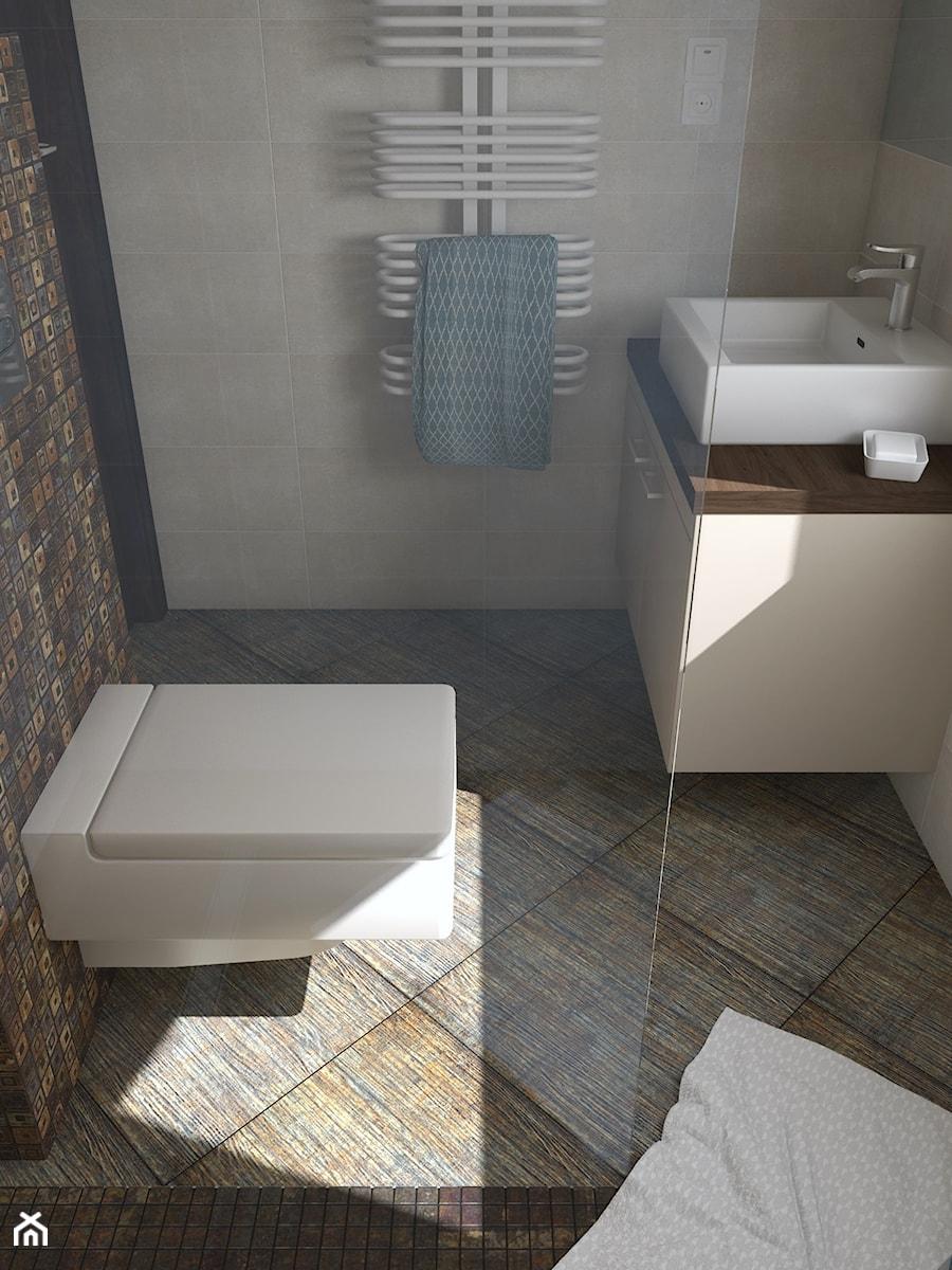 Nie Taki Wiejski Dom Na Wsi Mała łazienka W Bloku Z Oknem