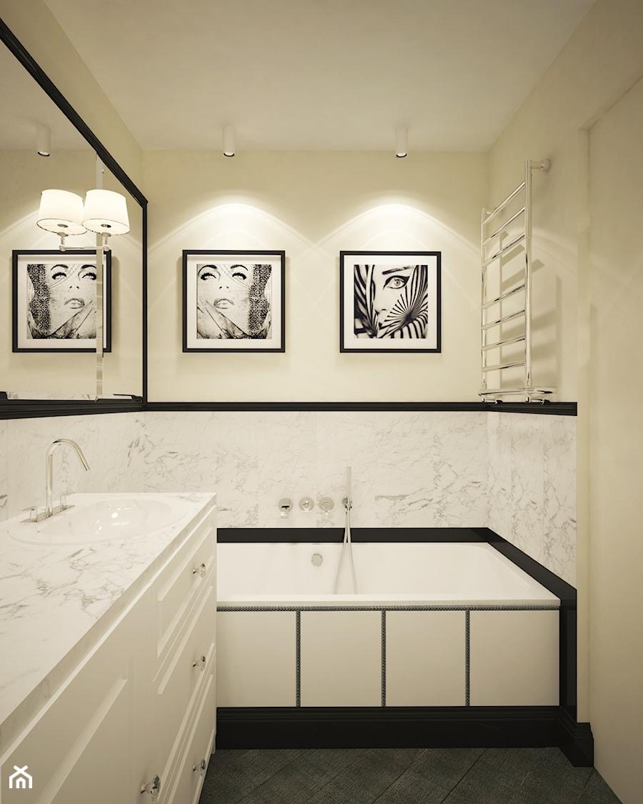 Łazienka w amerykańskim stylu. - zdjęcie od Wnętrzowe Love ...