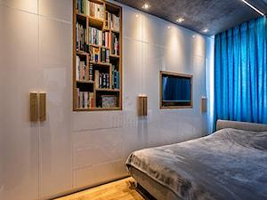 Metamorfoza salonu, sypialni i holu mieszkania w Olsztynie.