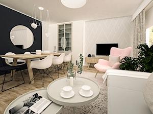 Projekt przebudowy mieszkania w Grudziądzu.