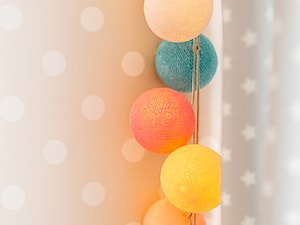 6 pomysłów na cotton ballsy w pokoju dziecka