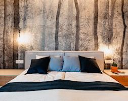 Fototapeta za łóżkiem w sypialni - zdjęcie od Wnętrzowe Love - Homebook