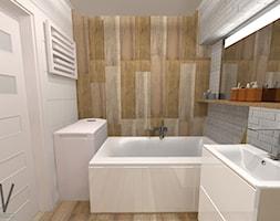 łazienka 45m2 Koszalin Projekt Wnętrza Mieszkalnego Kropka