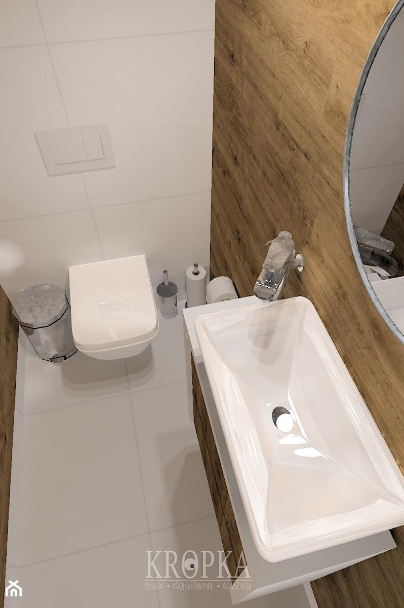 Wc 152m2 Szczecin Mała Szara łazienka W Bloku W Domu