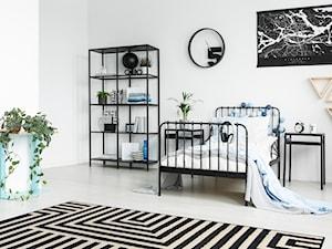 Dywany w najlepszej cenie - Średnia biała sypialnia - zdjęcie od Carpet For You