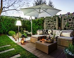 Mały ogród miejski - zdjęcie od APPO architektura krajobrazu - Homebook
