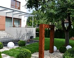 Nowoczesny ogród miejski - zdjęcie od APPO architektura krajobrazu - Homebook