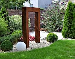 Nowoczesny ogród miejski - Średni ogród za domem - zdjęcie od APPO architektura krajobrazu - Homebook