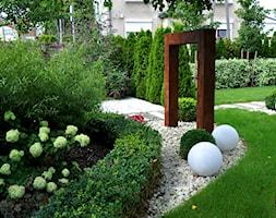 Nowoczesny ogród miejski - Ogród - zdjęcie od APPO architektura krajobrazu - Homebook