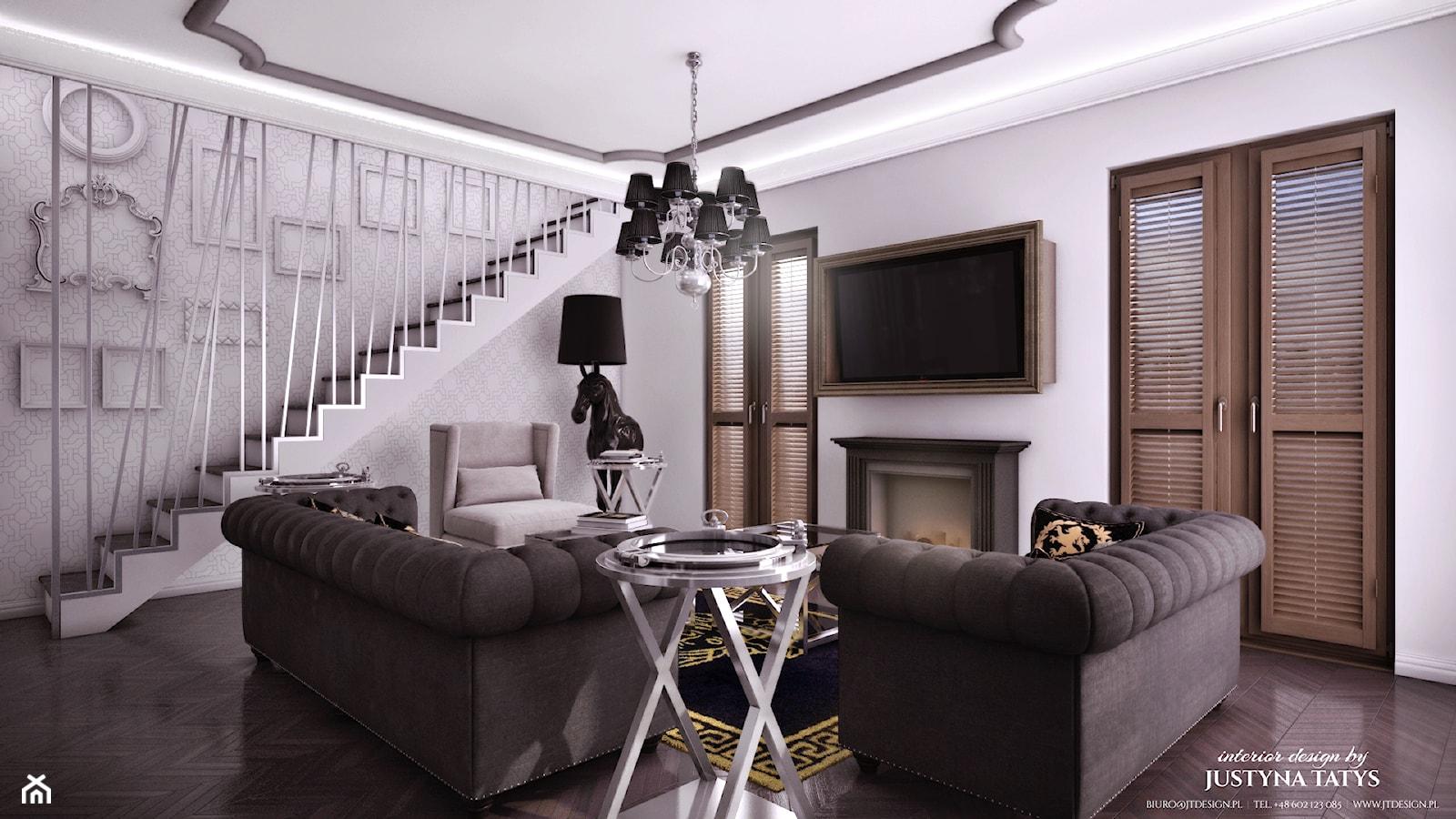 projekt Art-deco - zdjęcie od JT DESIGN Justyna Tatys - Homebook