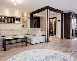 Salon w domu w Dąbrowie Górniczej - zdjęcie od INZART.pl - Homebook
