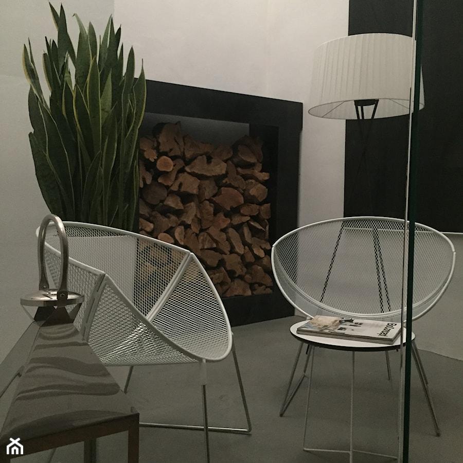 Apartament 250 m2 - Mały taras z przodu domu z tyłu domu - zdjęcie od marga22