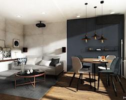 Salon styl Industrialny - zdjęcie od Joanna Górniak