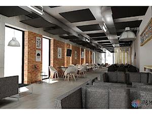 Projekt restauracji w Warszawie - Wnętrza publiczne, styl nowoczesny - zdjęcie od P&M_Pracownia