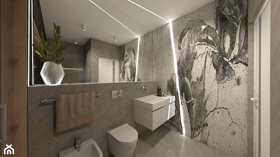 ANCHORIA MECHELINKI REGATOWA - Średnia szara łazienka w bloku w domu jednorodzinnym bez okna, styl nowoczesny - zdjęcie od MOCHO. studio Monika Machowska