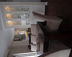 Dom na Nowcu - Średnia otwarta szara jadalnia jako osobne pomieszczenie, styl rustykalny - zdjęcie od STUDIO del arte
