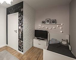 M6 - Średni szary pokój dziecka dla chłopca dla dziewczynki dla malucha, styl nowoczesny - zdjęcie od TB - Homebook