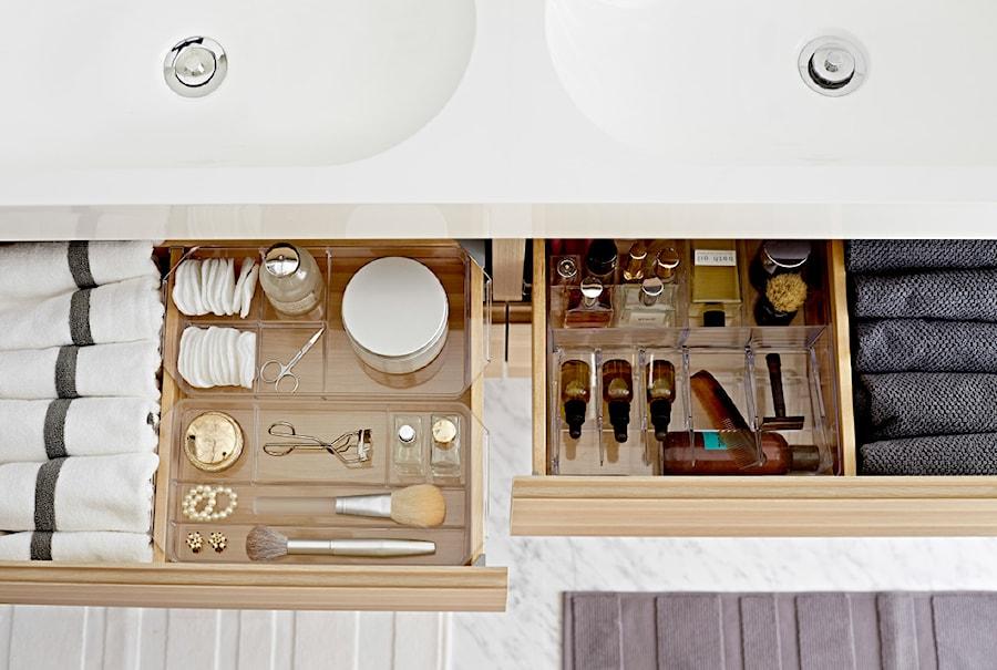 łazienka Ikea Mała Biała Szara łazienka Na Poddaszu W