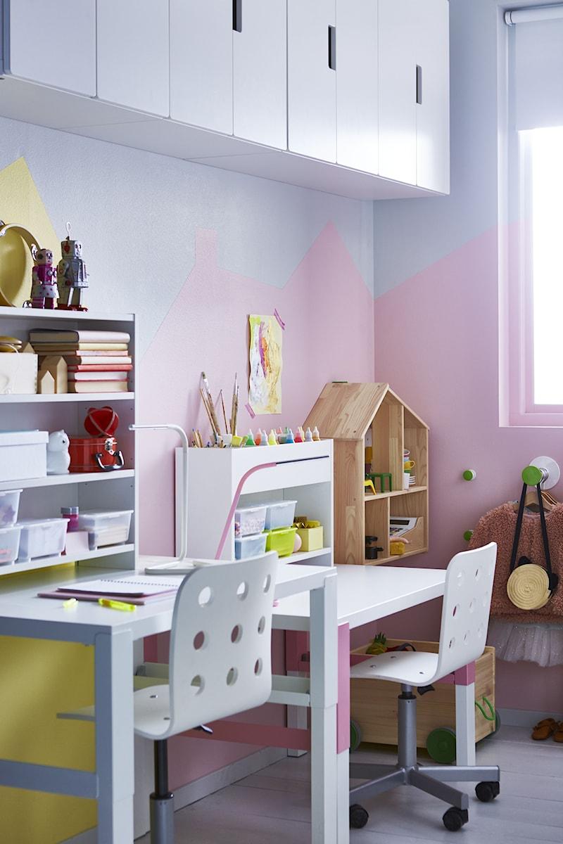Pokój dziecka IKEA  Średni pokój dziecka dla dziewczynki
