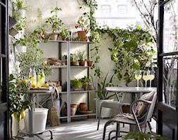 Balkon I Ogród Ikea średni Taras Z Tyłu Domu Styl