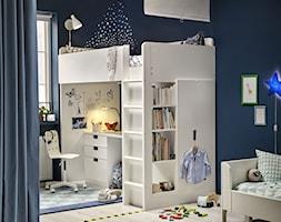 Pokój dziecka IKEA - Mały czarny pokój dziecka dla chłopca dla dziewczynki dla rodzeństwa dla ucznia dla malucha dla nastolatka - zdjęcie od IKEA