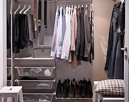 Sypialnia IKEA - Mała zamknięta garderoba przy sypialni - zdjęcie od IKEA
