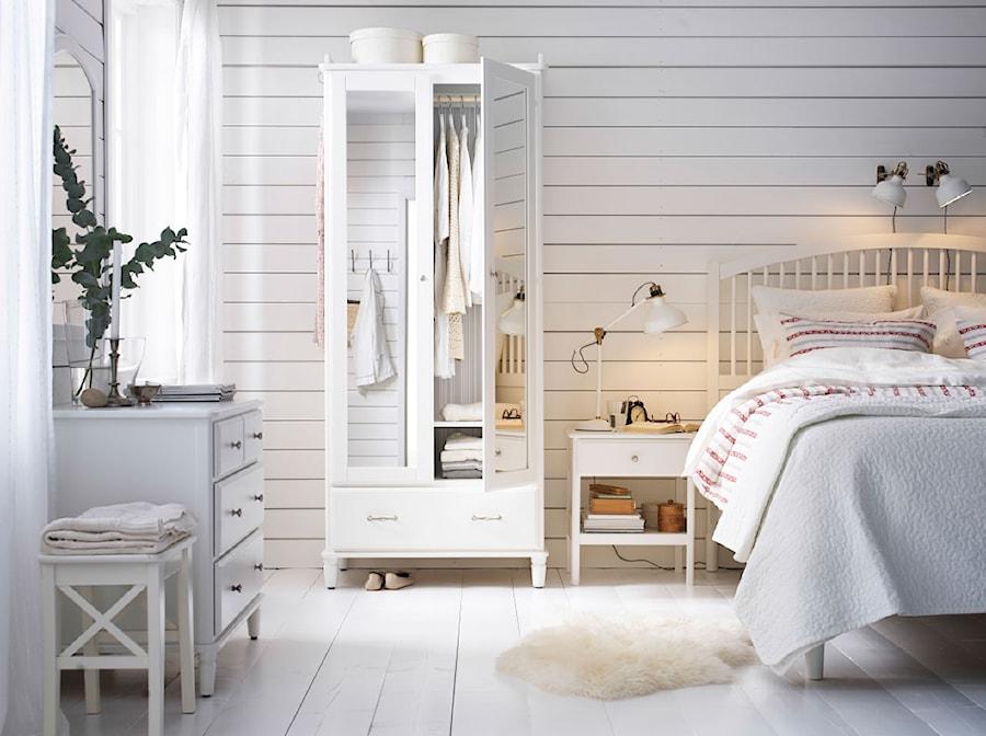 Sypialnia Ikea średnia Szara Sypialnia Małżeńska Styl