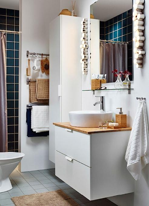 Jak Sprytnie Urządzić łazienkę Ikea Inspiruje Homebook