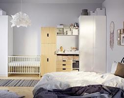 Pokój dziecka IKEA - Średni szary pokój dziecka dla chłopca dla dziewczynki dla niemowlaka - zdjęcie od IKEA