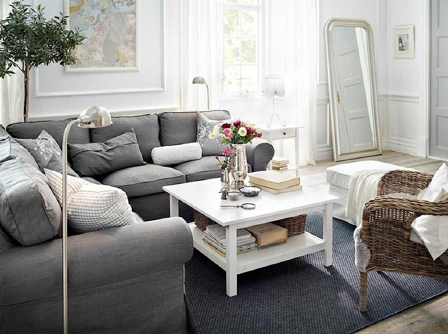 Pokój dzienny IKEA - Średni biały salon - zdjęcie od IKEA