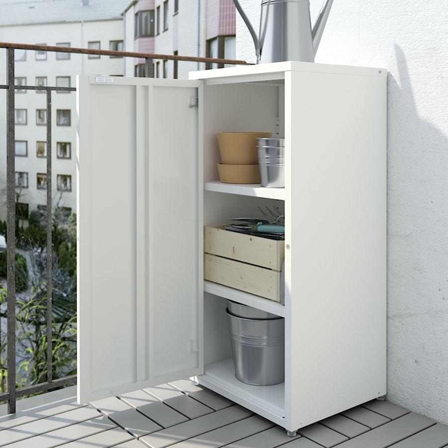 Mały Balkon Ikea Taras Styl Minimalistyczny Zdjęcie Od