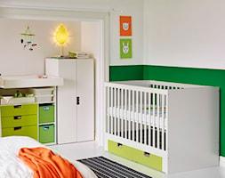 Pokój dziecka IKEA - Mały biały zielony pokój dziecka dla chłopca dla dziewczynki dla niemowlaka - zdjęcie od IKEA