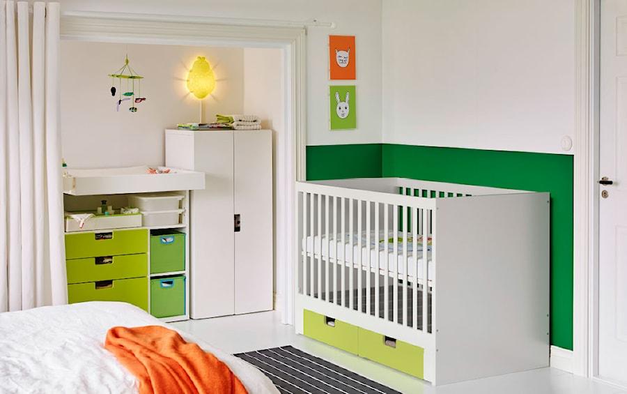 Pokój Dziecka Ikea Mały Biały Zielony Pokój Dziecka Dla Chłopca