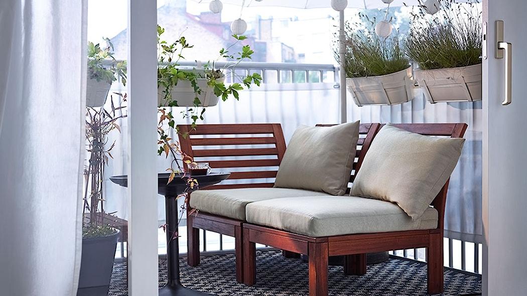Ikea Podpowiada Jak Urządzić Stylowy Balkon Homebook